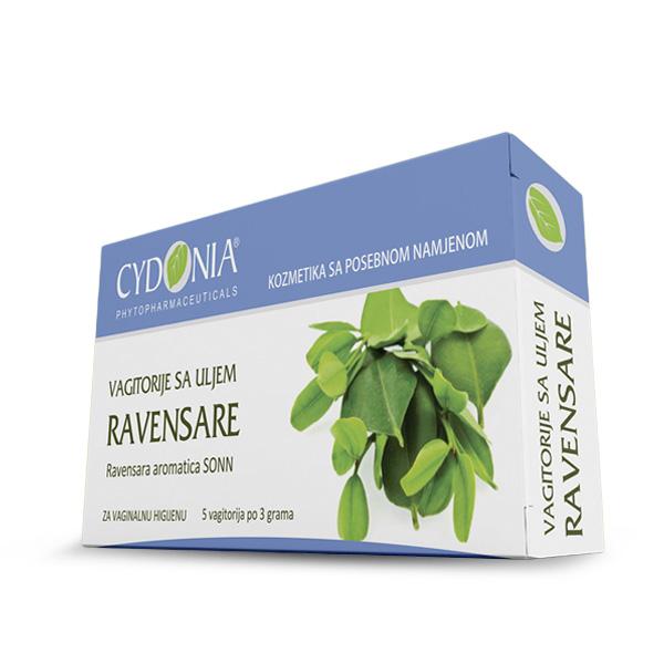 Ravensara oil vaginal suppositories - vagitorije sa uljem ravensare